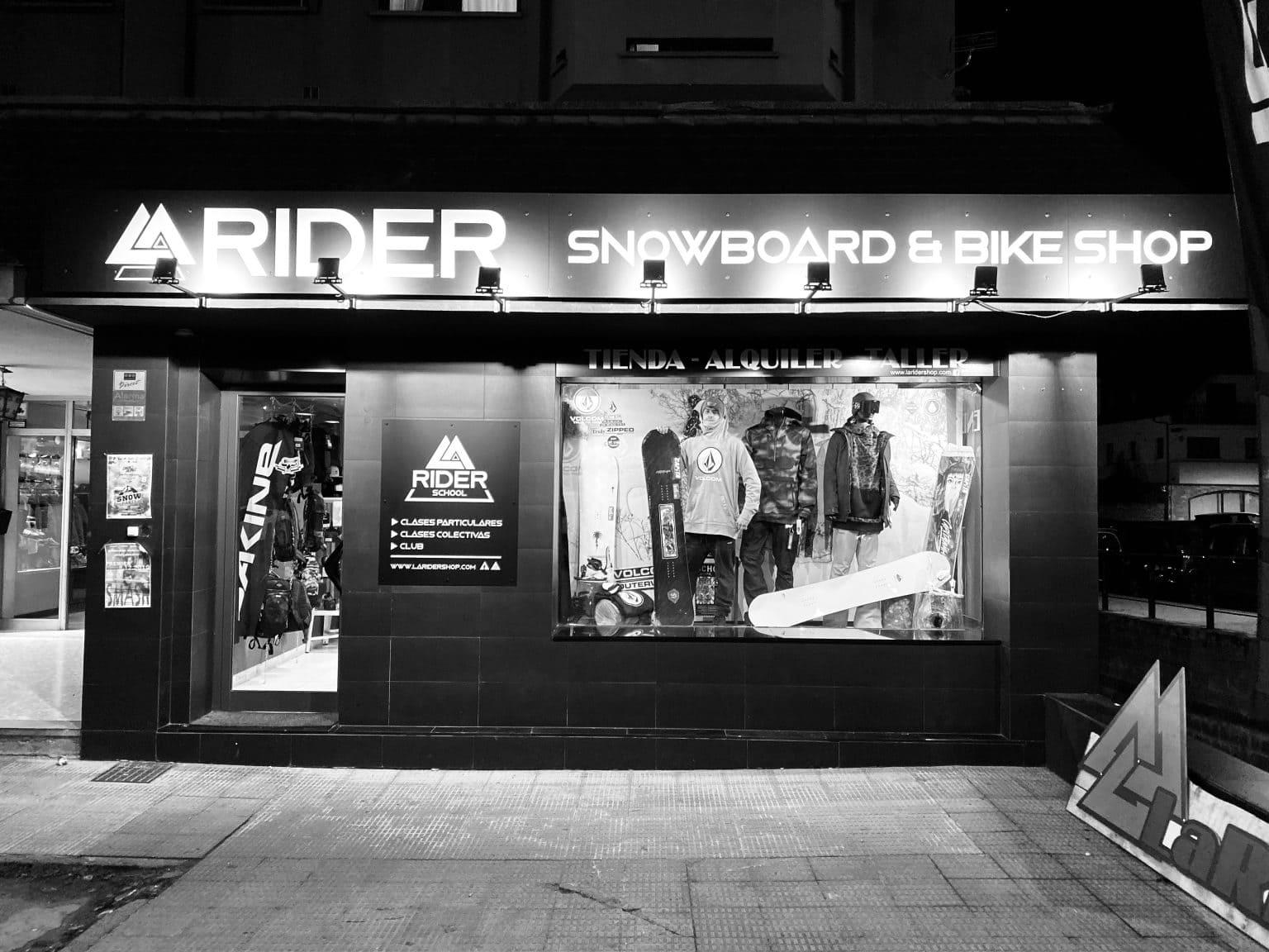 la rider bike tienda vielha